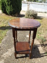Vintage side table in Lakenheath, UK