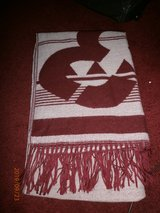 LARGE BURGANDY SCARF in Lakenheath, UK