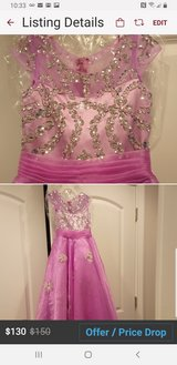 *BNWT* LILAC pageant gown gorgeous!! in Fort Campbell, Kentucky