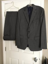 Brooks Brothers 2 piece Charcoal Suit 40L in Naperville, Illinois