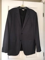Classic Charcoal/Gray Jacket Size L Merona Brand in Naperville, Illinois