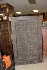 18th Century Temple Old Carved Door in Fort Drum, New York