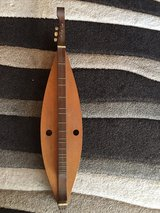 vintage 3 string custom dulcimer guitar 1978 in Okinawa, Japan