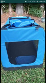 Almost new large pet carrier or  bed in Camp Lejeune, North Carolina