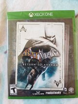 Batman return to arkham new sealed x box one in Bolingbrook, Illinois