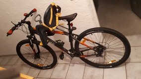 Mountain Bike with child seat in Ramstein, Germany