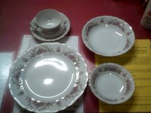 6 place set of JCP Marianna china with extras in Alamogordo, New Mexico