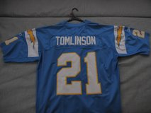 NFL Reebok # 21 LaDainian Tomlinson Authentic Jersey. SD Chargers in Okinawa, Japan