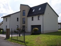 luxurious very modern imposing house with garages, huge garden and a summerhouse in Spangdahlem, Germany