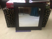 """21"""" Square Wood Framed Mirror in Chicago, Illinois"""