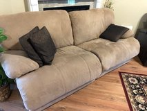 """Oversized recliner couch 87"""" in Warner Robins, Georgia"""