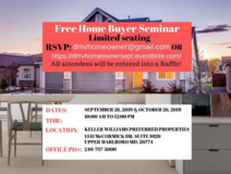 Free Home Buyer Seminar in Fort Meade, Maryland