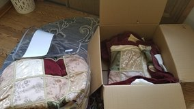 Comforter Set, King, matching drapery in Glendale Heights, Illinois