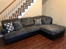Less Than 1 Yr Old Chaise Couch in Clarksville, Tennessee