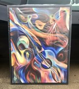 Abstract Guitar/ Jazz Painting on Canvas in Fort Campbell, Kentucky