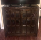 Dark Glossy Wood TV Stand in Fort Campbell, Kentucky