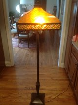 Vintage Frank Lloyd Wright Style Floor Lamp in St. Charles, Illinois