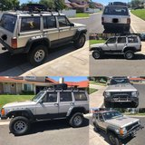 1995 Jeep XJ Cherokee 4X4 in Camp Pendleton, California