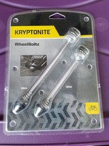 NEW Kryptonite Bike WheelBoltz Bike Lock in Naperville, Illinois
