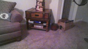 7 piece: Ashley living room- sofa, oversize chair, ottamen, 2 end tables, coffee table, tv stand in Fort Campbell, Kentucky