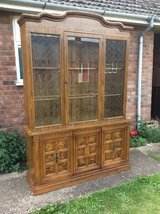 Display unit/cabinet up-cycle project piece in Lakenheath, UK