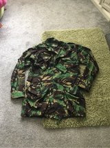Fabric Military Camo Jacket XL in Lakenheath, UK