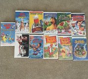 Lot of 11 VHS Children's movies in The Woodlands, Texas