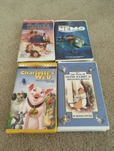 Lot of 4 VHS in The Woodlands, Texas