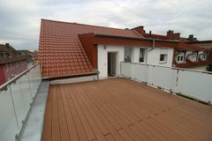 Premium top floor apartment with large patio downtown K-Town in Ramstein, Germany