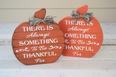 Set of 2 Pumpkins for Thanksgiving in Alamogordo, New Mexico