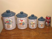 Ceramic Kitchen Canister Set - JAPAN in Westmont, Illinois