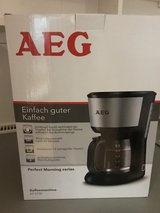 AEG Almost new coffee maker in Ramstein, Germany
