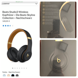 Beatsstudio3 wireless headphones in Stuttgart, GE