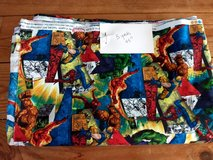 5 yds of 100 % cotton MARVEL fabric in Yorkville, Illinois