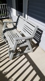 Wood Porch Rocker/swing in Naperville, Illinois