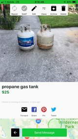 propane gas tank in Kingwood, Texas