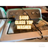 LIKE NEW MAYTAG GLASS TOP WASHER/DRYER in Fort Campbell, Kentucky