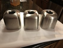 3 Brushed Stainless Steel Tissue Box Covers in Plainfield, Illinois