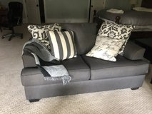 Sofa and love seat Gray in Quantico, Virginia