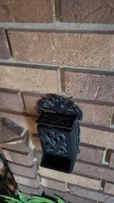 Vintage Cast Iron Match Box Holder in Chicago, Illinois