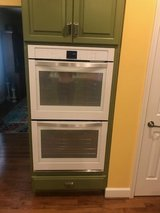 Double Ovens Maytag White with Stainless Handles in Quantico, Virginia