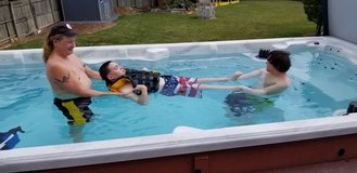 Hydrotherapy Swim Spas - aquatic exercise in your own backyard in Great Lakes, Illinois