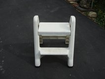 TWO STEP PLASTIC FOLDING LADDER in St. Charles, Illinois