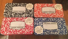 School Supplies Tins in St. Charles, Illinois