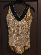 Gold Sequined Costume in Okinawa, Japan