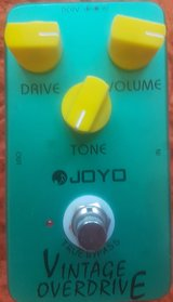 Guitar Pedal:  Joyo JF-01 Vintage Overdrive Guitar Effect Pedal with True Bypass in Stuttgart, GE