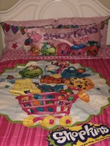 Shopkins complete full size bedding and decor in Warner Robins, Georgia