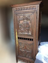 Antique French Breton Cabinet in Heidelberg, GE