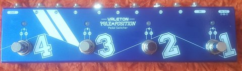 Guitar Pedal: Valeton Pole Position 4 Channels Guitar Effects Pedal Switcher in Stuttgart, GE