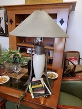 Ornate Table lamp with shade in Naperville, Illinois